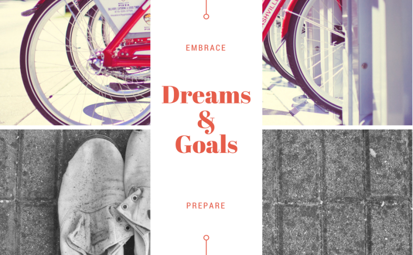 …The Nashville Mom (Part III): Dreams & Goals (embrace, prepare)
