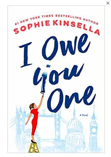Book Review: I Owe You One (Sohpie Kinsella)